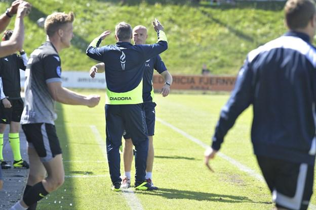 Askou: Ville ikke bytte position med Randers eller Lyngby