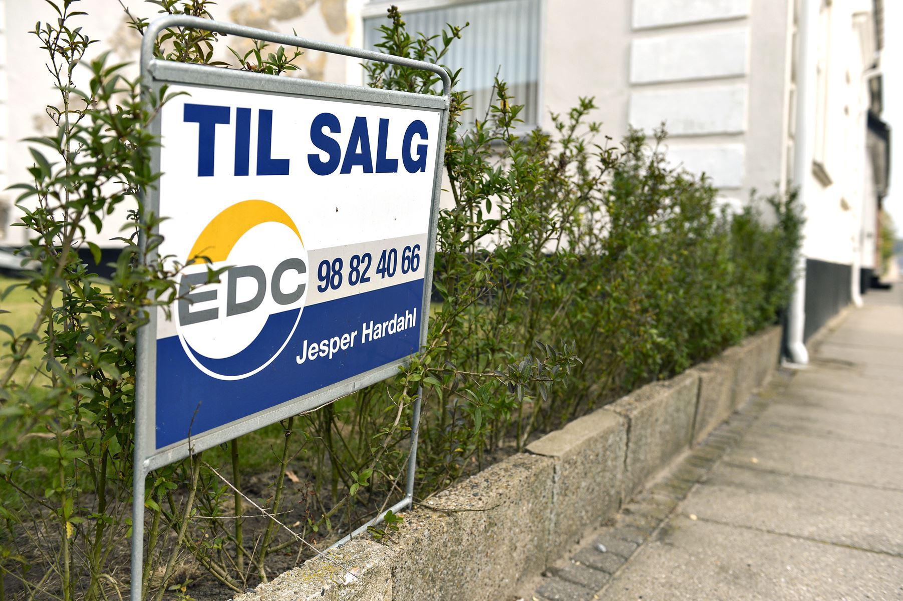 Syv kommuner i Nordjylland har oplevet faldende huspriser det seneste år