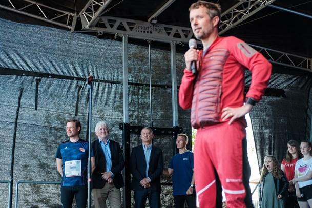 Nordjyder i tusindvis fejrer kronprinsen