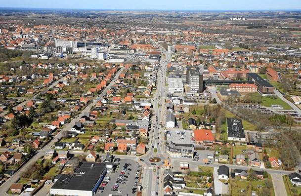 Den store by bliver større, mens andre byer skrumper