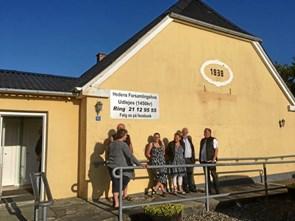 Otte forsamlingshuse fik penge med hjem