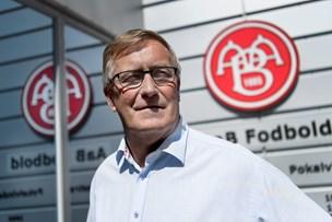 AaB-formand freder Gaarde/Wieghorst