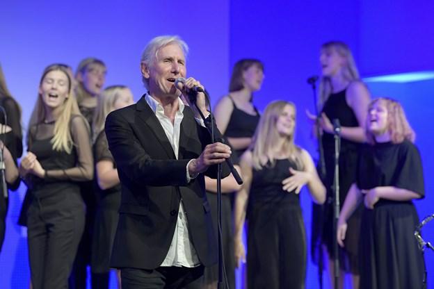 koncert med Steffen Brandt og Mariager Fjord pigekorFoto: Bente Poder