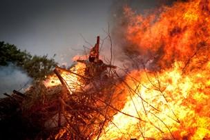 Brand aflyser sankthansbål