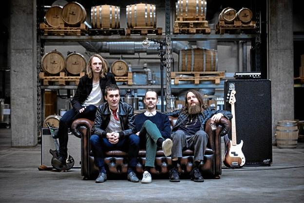 The Blue Van er på ferie: Brønderslev-band forsøger sig med legende sideprojekt