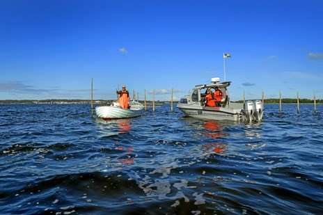 Fritidsfisker brugte magt mod embedsmand