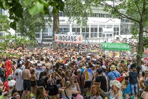 I er for vilde: Ros til karnevalsgæsterne