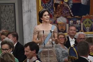 Der vil formentlig blive vist klip fra kronprinsessens tale til kronprinsen i mange år, vurderer ekspert.