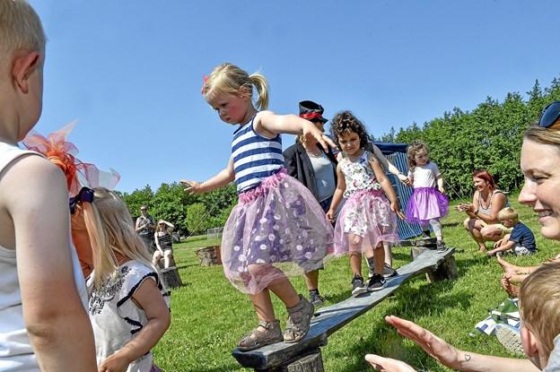 De frygtløse linedansere.Foto: Ole Iversen