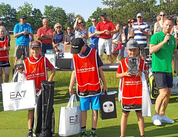 Unge igen golfvindere