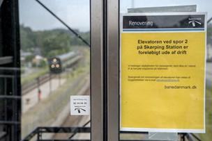 Endnu engang: Elevatorer på Skørping Station virker ikke
