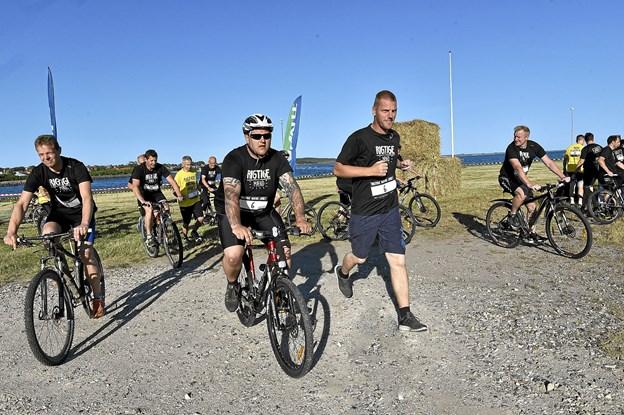 10 km. venter og syv udfordrende poster i Thisted by. Foto: Ole Iversen