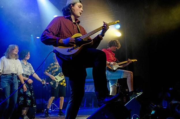 11 bands og en klassisk gruppe var af sted på turneen. Privatfoto