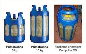 Tjek farlige gasflasker i omløb
