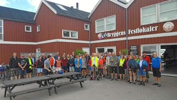 Cyklistforbundet har tidligere haft en cykeltur til Nibe Bryghus. Foto: Jens Christensen
