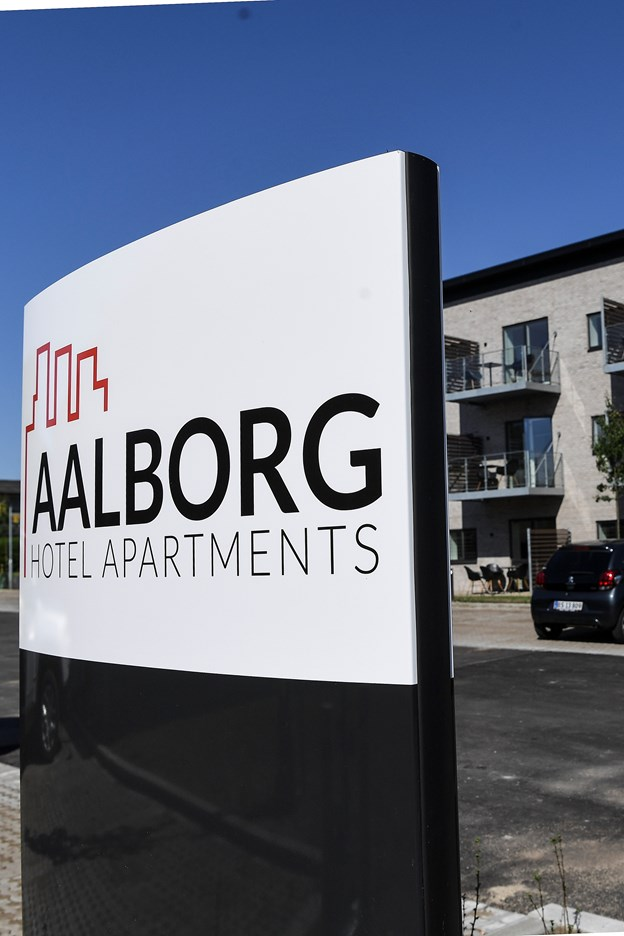 Det ny hotel ligger på Venøsundvej i Aalborg Øst