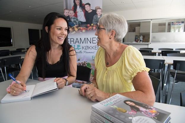 Camilla Framnes har udgivet sin egen kogebog med opskrifter samt tips og tricks til et sundt vægttab. Bogen kom på gaden 1. juni. Foto: Hans Ravn
