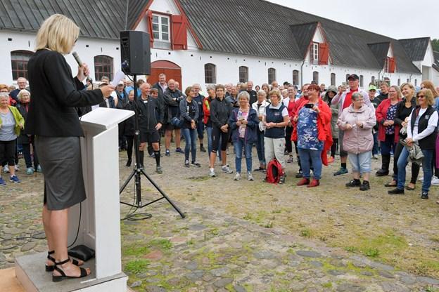 Birgit Hansen stiller naturligvis også sit eget hold ved dette års Stafet for Livet.