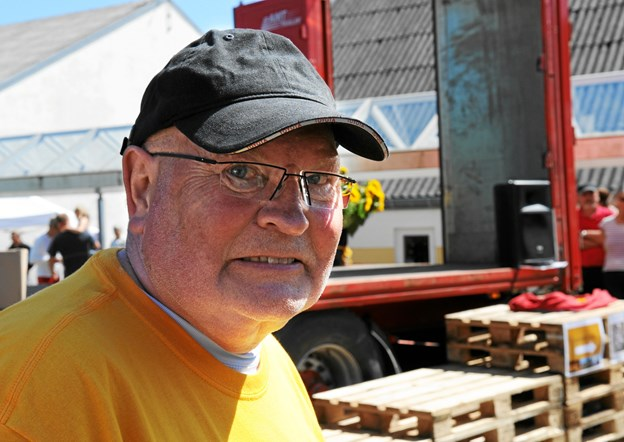 Tidligere Toyotaforhandler Arndt Hüttel var initiativtageren til Stafet for Livet. Foto: Carsten Thomasen