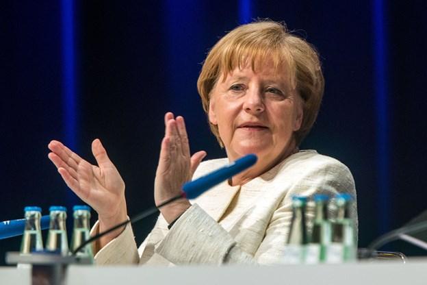 Merkel: USA har et stort handelsoverskud over for Europa   Nordjyske.dk