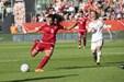 Danmarks fodboldkvinder overvandt ungarsk chokføring