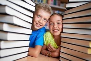 Børn udfordres af bibliotekarer