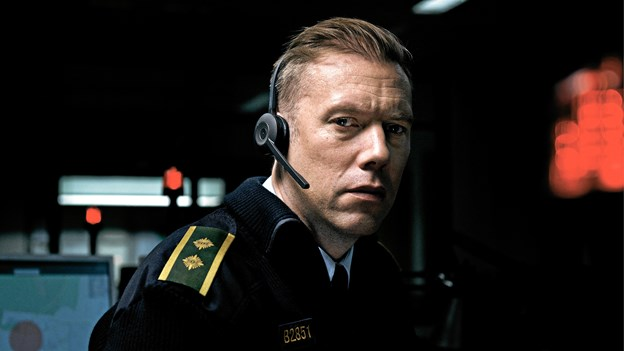 Jacob Cedergren i rollen som politibetjent Asger Holm.