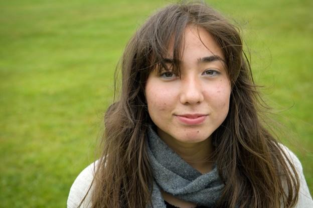 16-årige Eva Raltin skal snart til Quebec City.