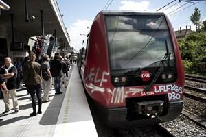 84 procent af togpassagererne er tilfredse med rejsen, viser undersøgelse. Det er et fint resultat, mener DSB.