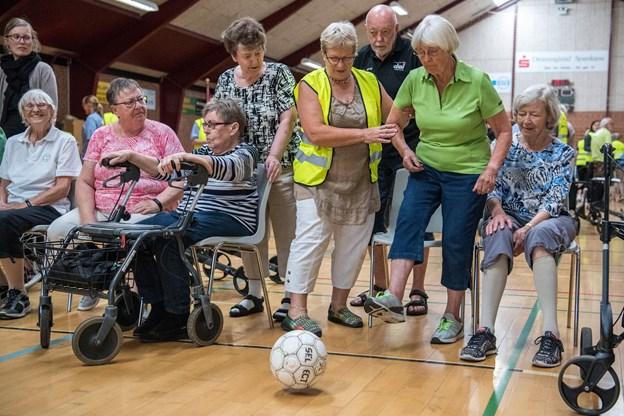 Senior-OL er blevet en tradition, som de ældre ser hen til.