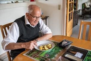 En enkelt dag forkæles pensionister med nye kartofler