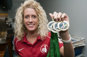 Mai Ginge Jensen vinder andet EM-guld