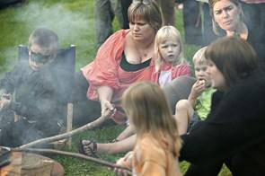 Bålfest i Elling