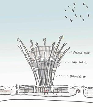 Protester mod 23 meter højt udkigstårn: Alt for dominerende