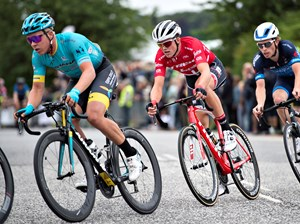 Valgren på cyklen i Aalborg