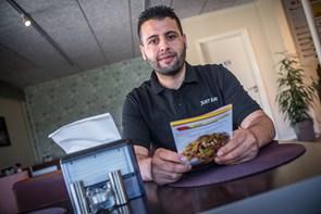 Ahmed og Adnan er flygtet fra Syrien - nu har de åbnet eget spisested i Hobro