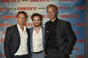 Skuespiller Johannes Lassen vandt tirsdag aften sin første pris nogensinde.