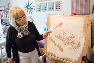 Marianne fik kunstner-debut i pensionsalderen: - Jeg satsede på min kærlighed til kunsten