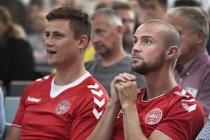 Telenor-medarbejdere satte arbejdet på pause: De støttede Danmark i VM-gyser