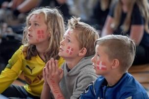 VM-fodbold på skoleskemaet