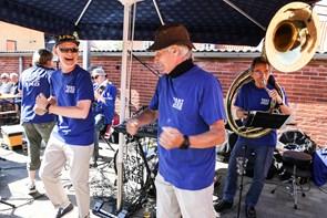 Musikfest på Fisketorvet