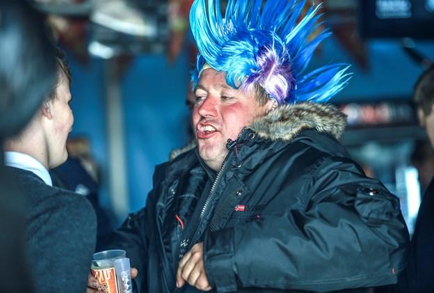 Håret sat til to dages Thy Rock-fest. Foto: Ole Iversen