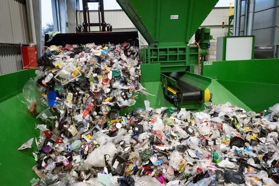 Genbrug af plast hitter i de små hjem i Mariagerfjord