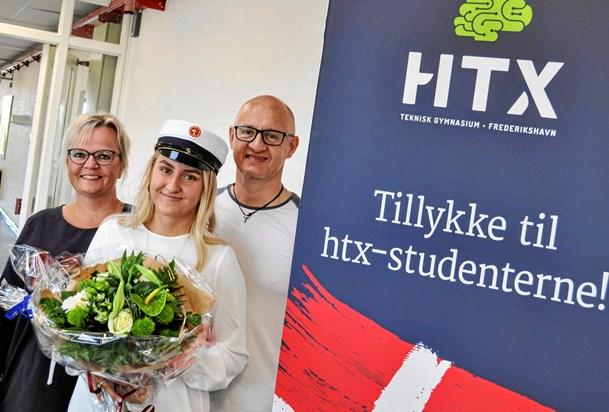 Første student fra HTX