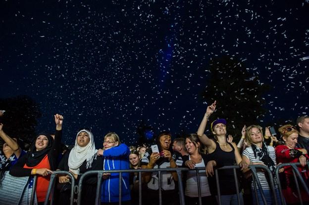En afslappet stemning og billige indgangsbilletter er nogle af årsagerne til succesen med Fredagsfest, vurderer Jørgen Nissen. Arkivfoto: Martin Damgård