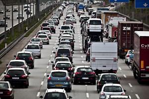 Der er vejarbejde på 110 ud af 120 kilometer af den travle motorvej A7 mellem Neumünster og Hamburg