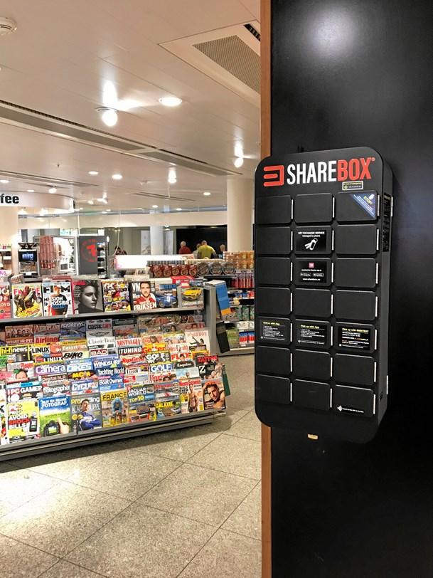 Sharebox gemmer nøglen