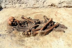 Besøg skelet af mand fra jernalderen