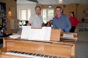 Chefskifte på Klejtrup Musikefterskole