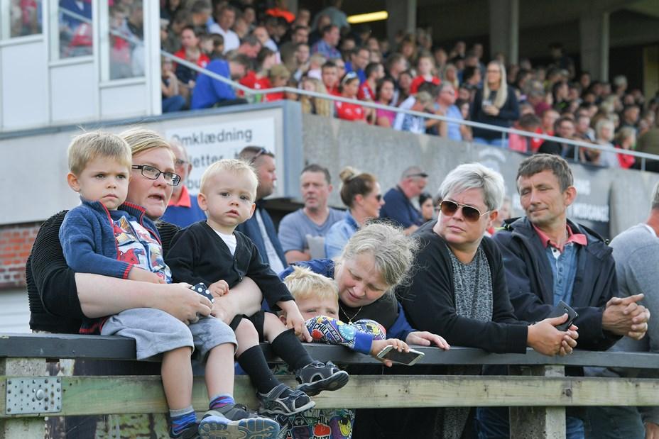 Fodboldfest i Frederikshavn